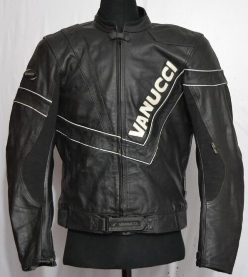 vanucci s motorcycle heavy leather jacket l 45 3 kg