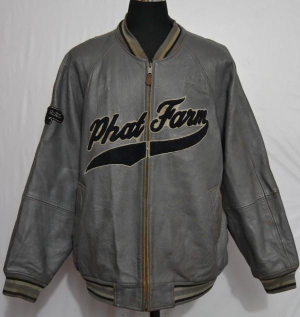 Phat farm leather jacket