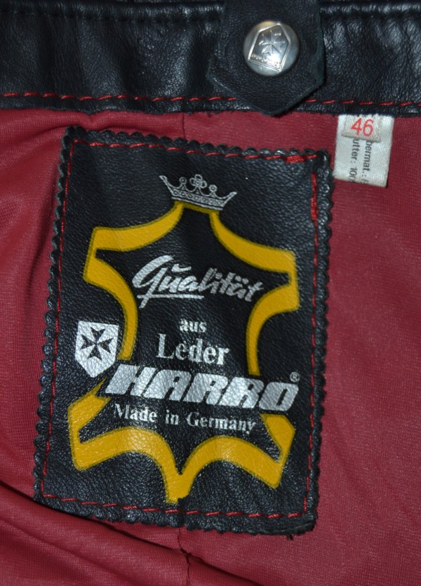 2b4c955d8 HARRO Men s Red Liner Café Racer Motorcycle Leather Jacket – Made in  Germany (R-X-31
