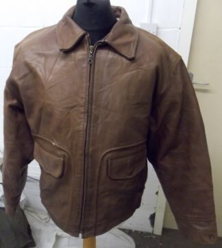8e79e0974 Men's Type A2 Flight Cowhide Leather Jacket – Made in Italy (L-46 ...