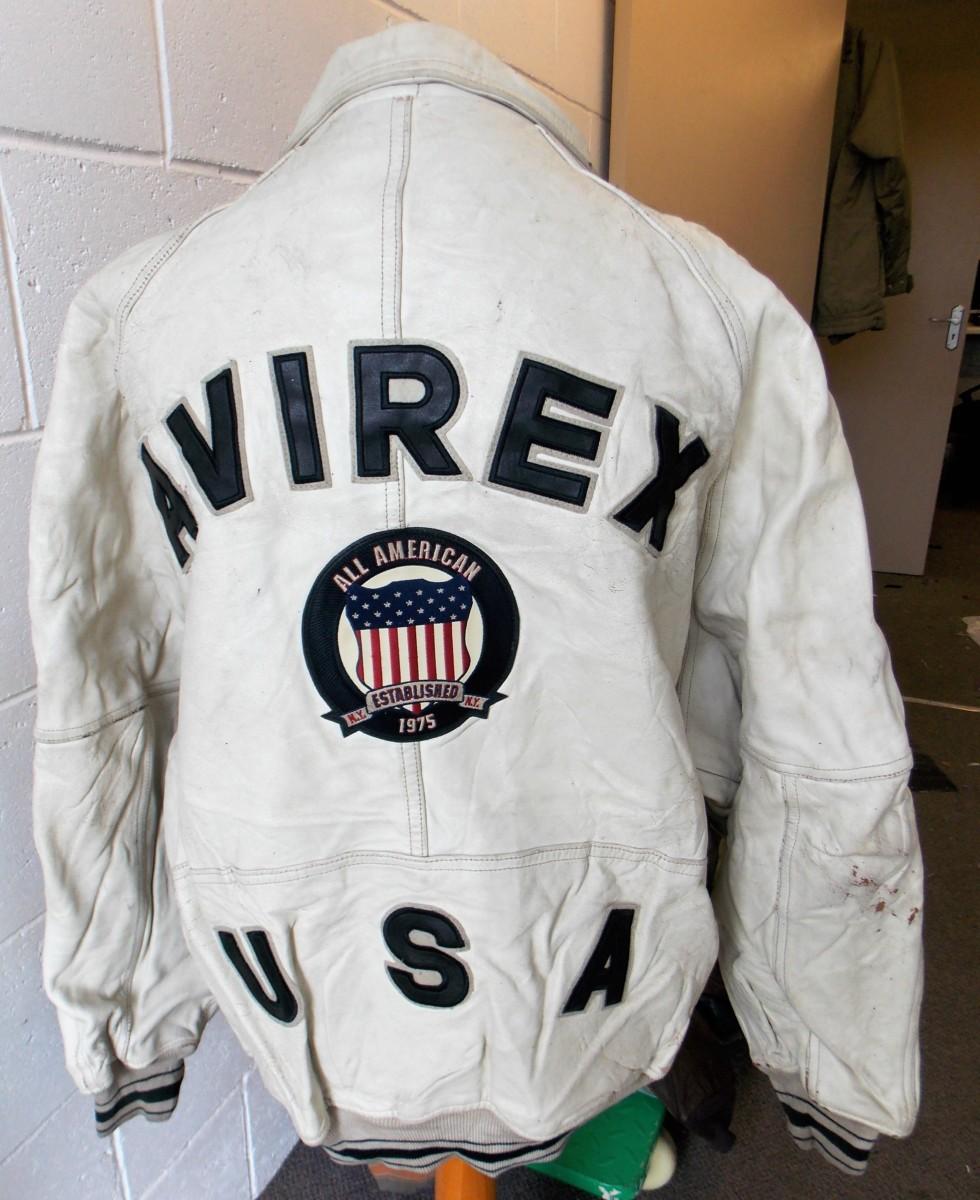 Avirex leather bomber jackets