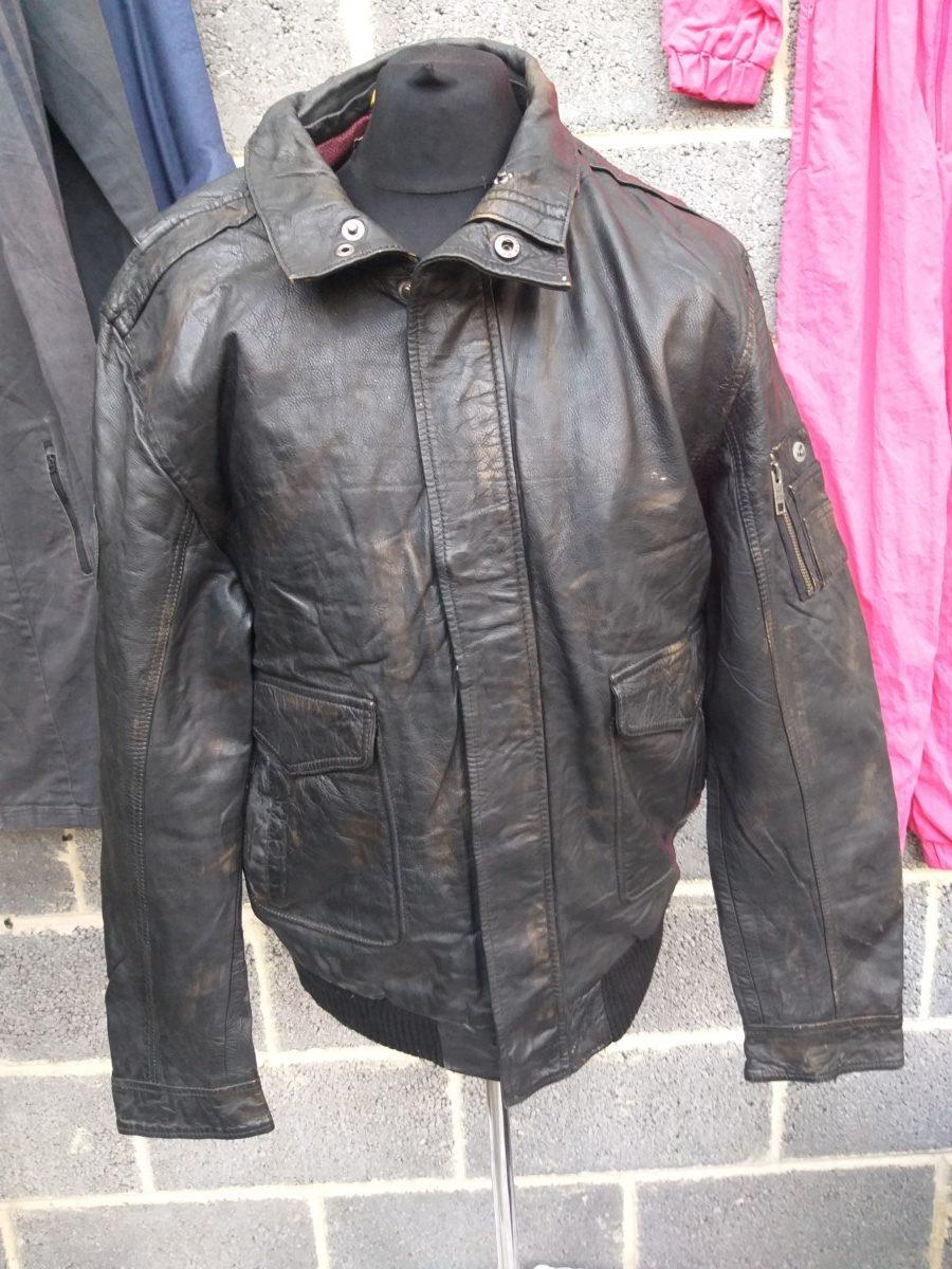 Camel Active Men's Wolf Printed Liner Bomber Leather Jacket (S-A42) – UK  Wholesale Vintage Clothing